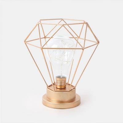 다이아몬드 전구 LED 조명_골드