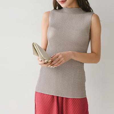 Pleats Mini Turtle Top - 민소매