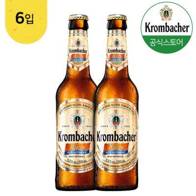 크롬바커 바이젠 논알콜 맥주맛 음료 330mlx6병