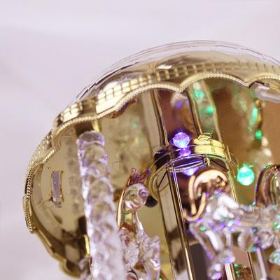 [일본] 아라비안 LED 회전목마 오르골(DY2682,DY2661)