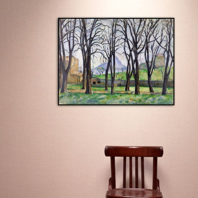 [THE BELLA] 세잔 - 자 드 부팡의 밤나무 Chestnut Trees at Jas de Bouffan