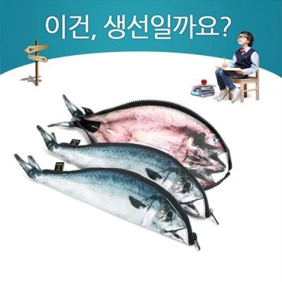 본사정품 고등어 배스 니모 필통 물고기 생선