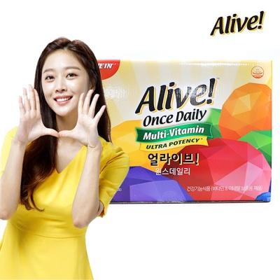 얼라이브 멀티비타민 1box