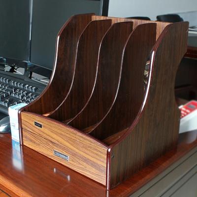 DIY 4칸 문서정리 파일박스