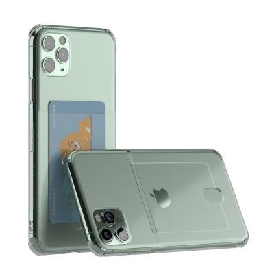 아이폰 11 Pro Max 아이스핏 에드온 TPU 카드 케이스