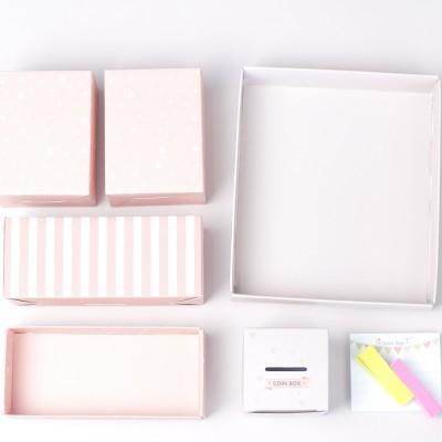 [1+1행사]풋잇백 핑크 디자인 소품정리함