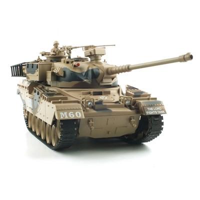 1/18 US M60 BB탄 슈팅탱크 패튼전차 무선모형 RC (YAK114014CA)