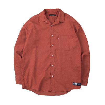 157 솔리드 셔츠 (브릭)