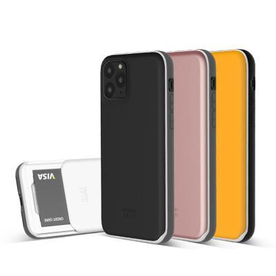 아이폰11프로맥스 슬라이더 카드 케이스