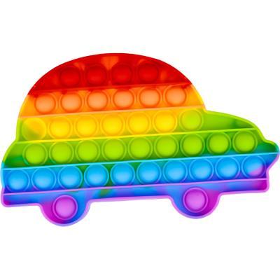 레인보우 푸쉬 팝 버블 - 자동차