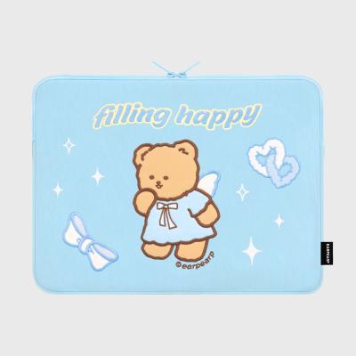 FILLING HAPPY MERRY-SKY BLUE(15인치 노트북파우치)