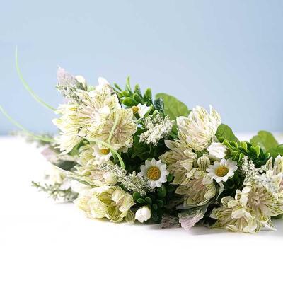 Flower 멈 미니부쉬 조화 크림 46x29cm CH1701218