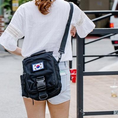 [패치증정]남여공용 크로스백 등산가방/여행가방