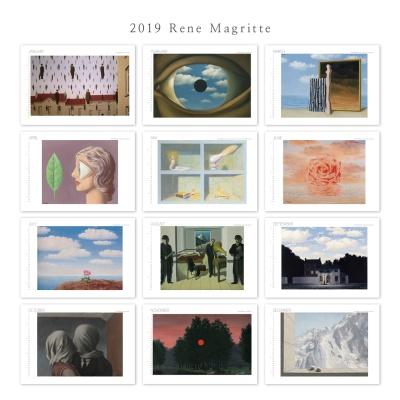 [2019 명화 캘린더]Rene Magritte 르네 마그리트 A