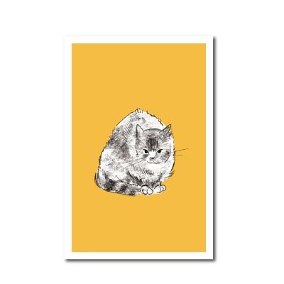 북성로 고양이 엽서 머스타드
