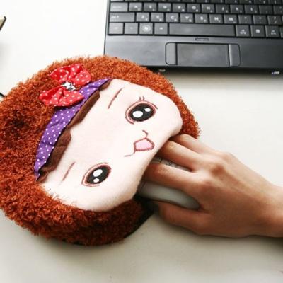 USB 온열 마우스패드 소녀