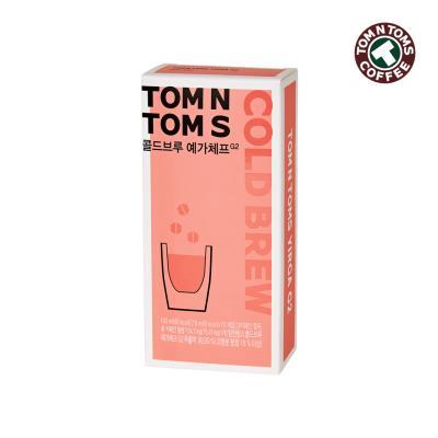 탐앤탐스 콜드브루 커피 예가체프 G2 10ml x 10개입