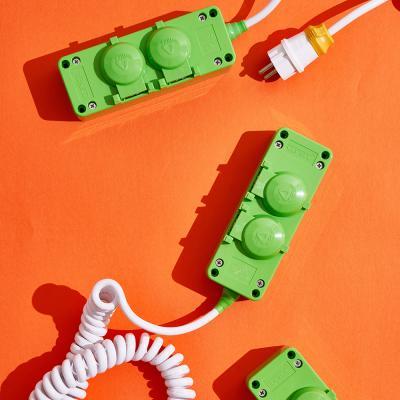 디자인 국산 멀티탭  2구 4000W 대용량 멀티콘센트
