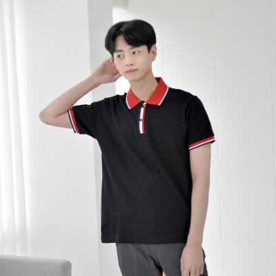 [긴팔가능] 남녀공용 20수 배색 카라티셔츠 6color