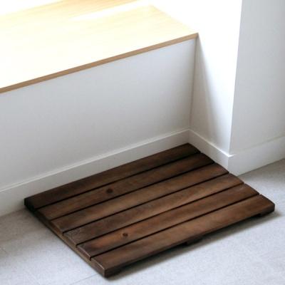 월넛 원목 화장실 욕실 현관용 나무발판