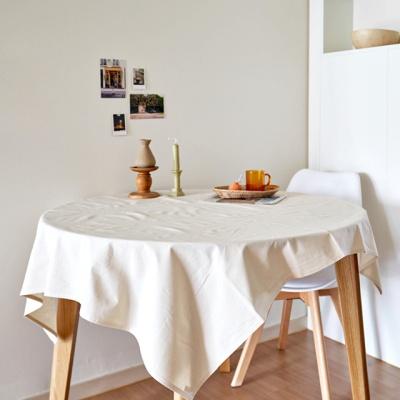 블랭크 광목 정사각 테이블커버 / 식탁보 (RM 207002)