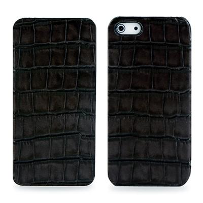 TETDED 아이폰 5용 CROCODILE Skinny  (블랙)