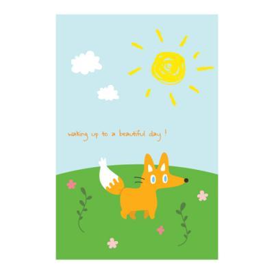 왈가닥스 비프렌드 포스트카드 엽서 - fox