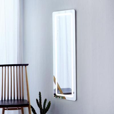 [베스트리빙]LED 라인 벽걸이 전신거울(CH-TM-3-W)