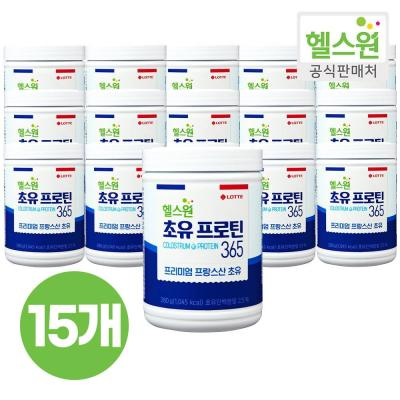 [헬스원] 초유프로틴365 280g x15개
