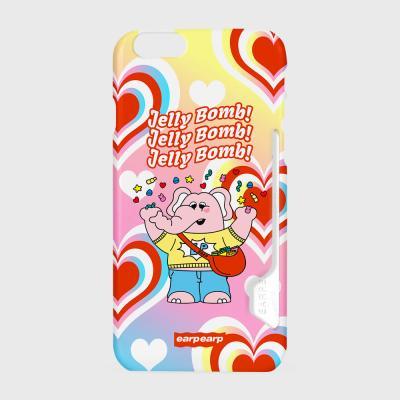 kkikki Jelly bomb-yellow/pink(카드수납케이스)