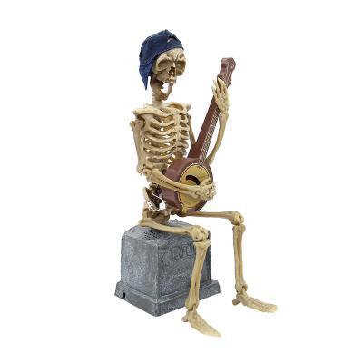 노래하는 할로윈 해골 스켈레톤 장난감 작동완구