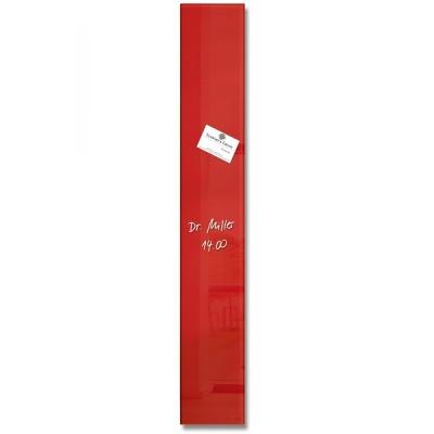 [Sigel] 12x78cm...특수 안전 유리의 인테리어 디자인보드-독일 지겔 마그네틱 글라스보드 GL104