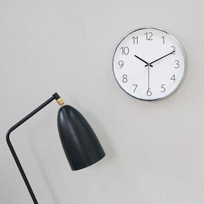 [시우아트] 마블패턴 무소음 벽시계-A