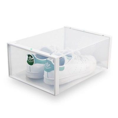 신발 수납박스 인테리어 보관 확인 투명 슈즈정리함