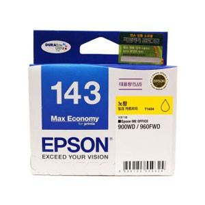 엡손(EPSON) 잉크 C13T143470 / NO.143 / 노랑