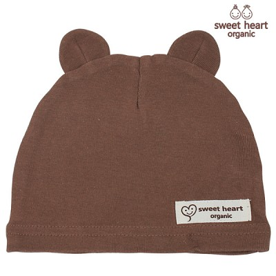 [스윗하트]오가닉 곰돌이 모자