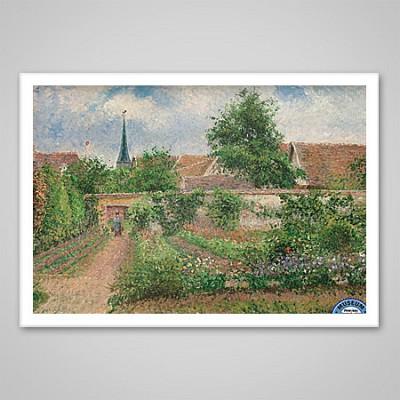 1000조각 직소퍼즐▶ 카밀 피사로 - 야채 정원 (EU6-0825)