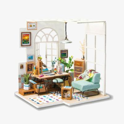 [adico]DIY 미니어처 시그니처 하우스 - 공부방