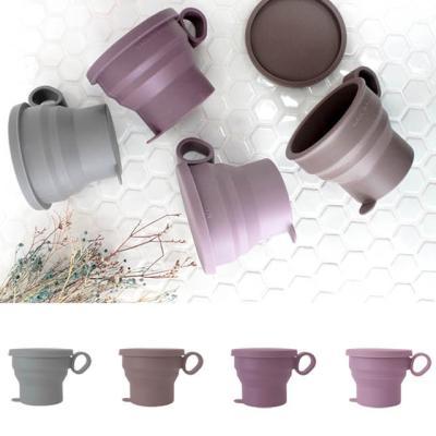 아도라하우스 파스텔 실리콘 접이식 컵