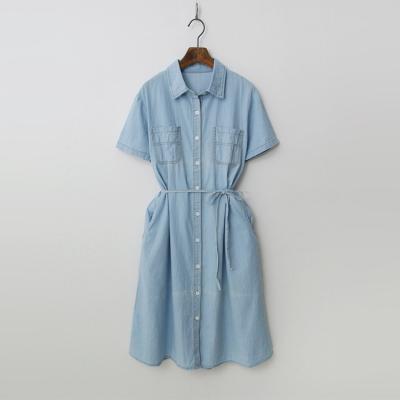 Summer Denim Shirts Dress
