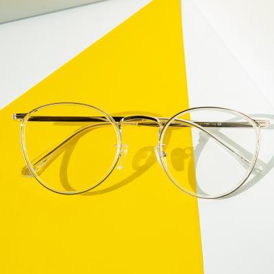 shine 크리스탈 원형 완테 안경 뿔테 패션안경 안경테