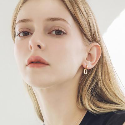 제이로렌 M03611 골드체인 귀걸이