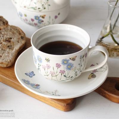 [2HOT] 영국 플라워가든 커피잔