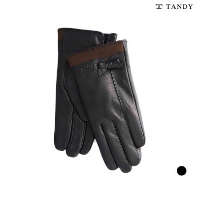 탠디 손목 스웨이드 가죽장갑 (여성용)