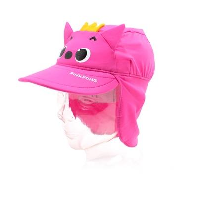 핑크퐁 페이스 입체 아동 플랩캡