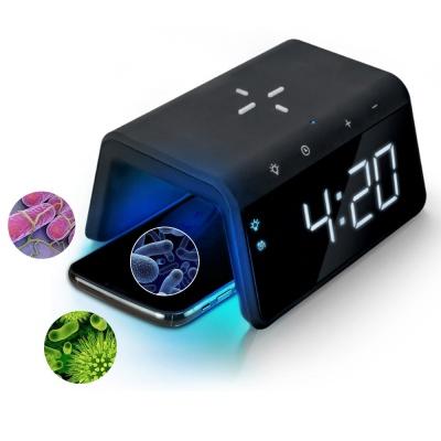 유엠투 AL700 고속 무선 충전 UV 살균 알람시계
