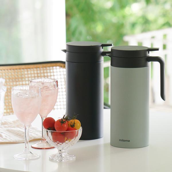 밀레마 엠버 바큠 보온 보냉 저그 1.5L
