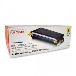 후지제록스(FUJI XEROX)토너 CT350484 / Yellow / DocuPrint C2100,3210DX / 2,000매 출력