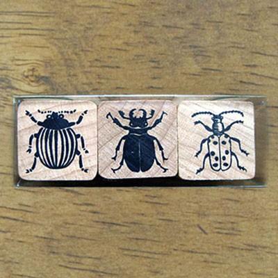 [동물 and 곤충]곤충스탬프세트