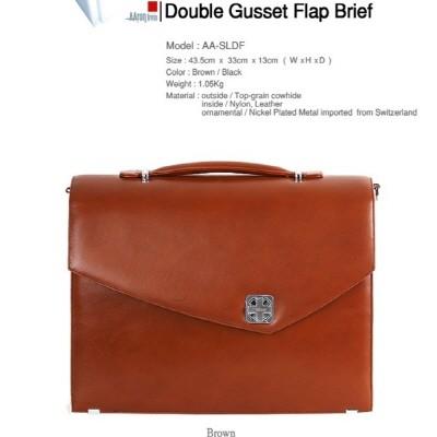 [AAron livin]  Double Gusset Briefcase 서류가방